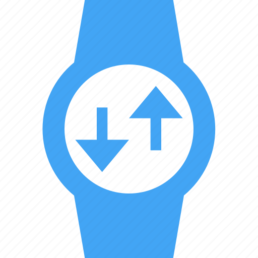 clock, reload, smart watch, sync, time, watch icon
