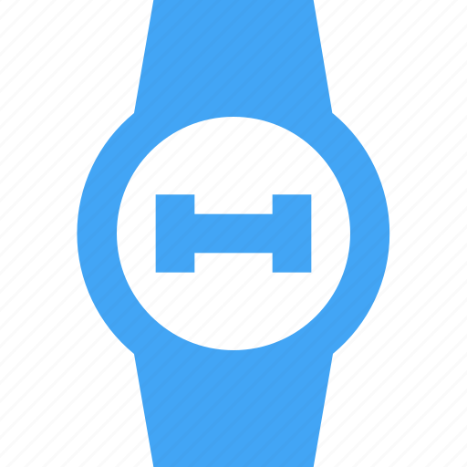 clock, dumbell, fitness, smart watch, time, watch, weight icon