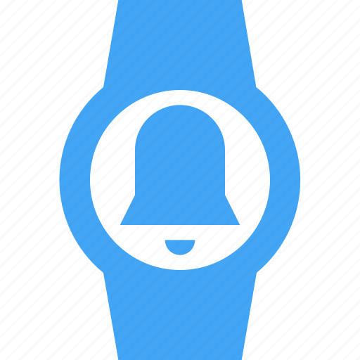 alarm, bell, clock, smart watch, time, watch icon