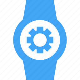 clock, device, settings, smart watch, time, watch icon