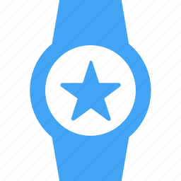 clock, device, favorite, smart watch, star, time, watch icon