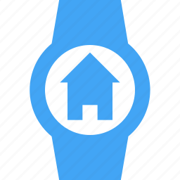 clock, device, home, house, smart watch, time, watch icon