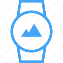 clock, device, image, smart watch, time, watch icon