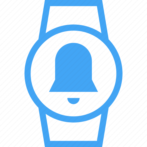 Bell, clock, device, smart watch, time, watch icon - Download on Iconfinder