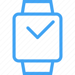 clock, device, smart watch, time icon
