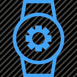 clock, device, settings, smart watch, watch icon