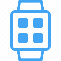 clock, device, devices, smart watch, watch icon