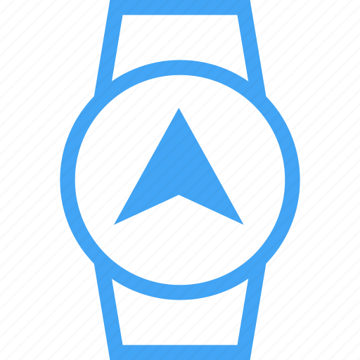 Airplane, device, navigation, send, smart watch, watch icon - Download on Iconfinder