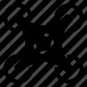 copter, dron, quad icon