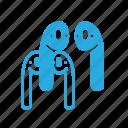airpad, apple, earphone, head, music, phone, set icon