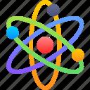 atom, dna, ion, neuron icon