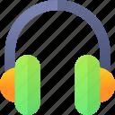 education, headphone, music, school icon