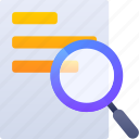 education, find, research, search icon