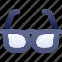 education, eyeglass, glass, sunglasses icon