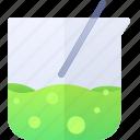 beaker, liquid, physic, science icon