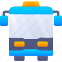 bus, education, school, vehicle icon