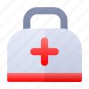 bag, doctor, hospital, medic kit icon