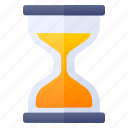 alarm, education, hourglass, time icon
