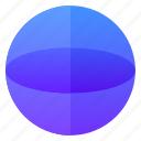 education, sphere, square, volume icon