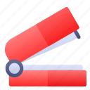 book, education, stapler, tool icon