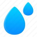 drop, education, liquid, water icon