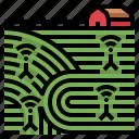 crop, farm, field, network, smart