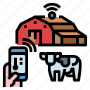 barn, cow, farm, smart, stocks, warehouse