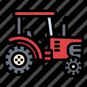 farm, smart, tractor, transportation, vehicle icon