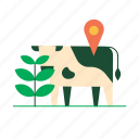 agriculture, animal, farming, iot, monitoring, smart farm, tracking icon