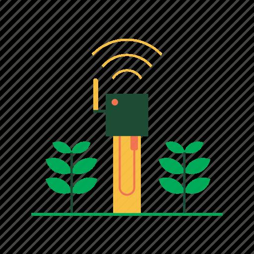 agriculture, agritech, farm smart, farming, iot, sensor, smart sensor icon