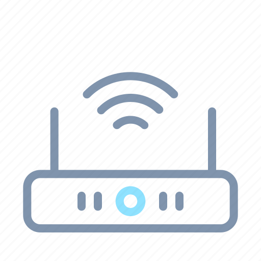 device, gadget, router, smart, technology, wifi, wreless icon