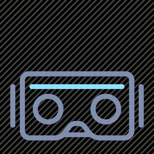 device, glass, reality, smart, technology, virtual, vr icon