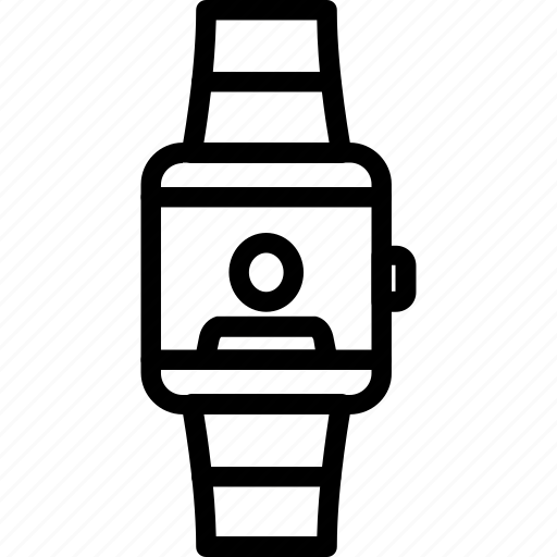 clock, devices, gadgets, smart icon