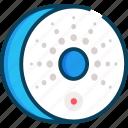 detector, protect, sensor, smoke detector icon