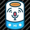 audio speaker, device, smart, smart speaker icon
