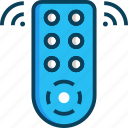 electronics, remote control, technology, wireless icon