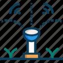 gardening, smart, smart farm, sprinkler, watering icon