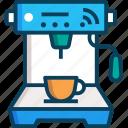 coffee, coffee machine, drink, vending machine icon