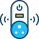 electricity, energy, power socket, socket, technology icon