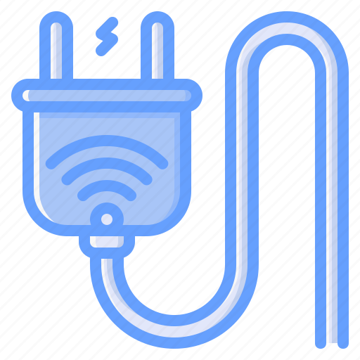 Plug, cable, connector, socket, electric icon - Download on Iconfinder