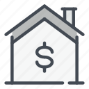 smart, home, house, dollar, money, payment, mortgage