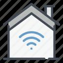smart, home, house, wifi, signal, internet, network