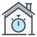 smart, home, house, timer, time, countdown, auction