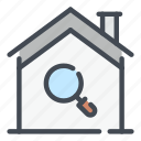 smart, home, house, search, research, find, view