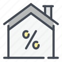 building, discount, percentage, tax, mortgage, house