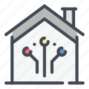 smart, home, house, connect, connection, network, online