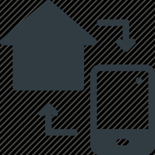 control, device, home, smart icon