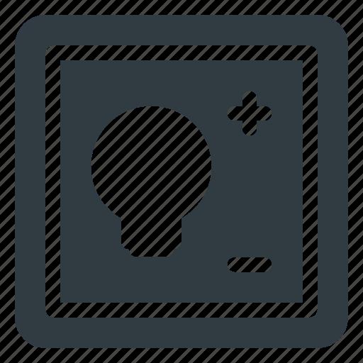 home, smart, wallpad icon