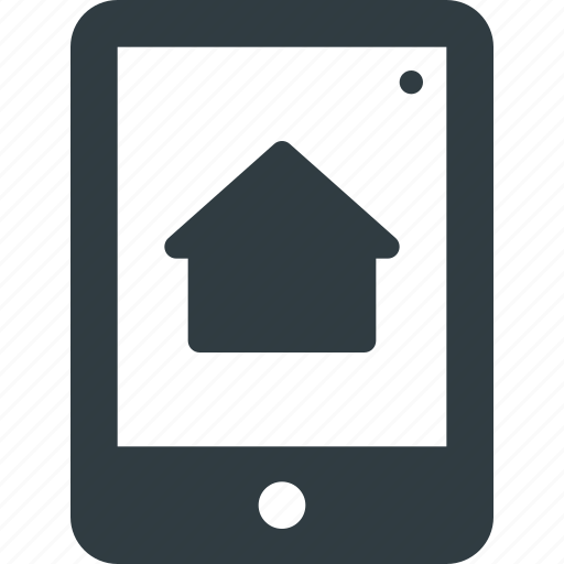app, application, smarthome, tablet icon