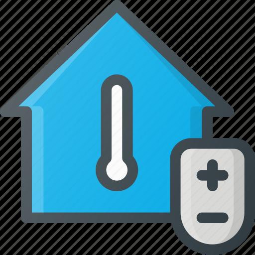 Adjust, home, smart, temperature icon - Download on Iconfinder